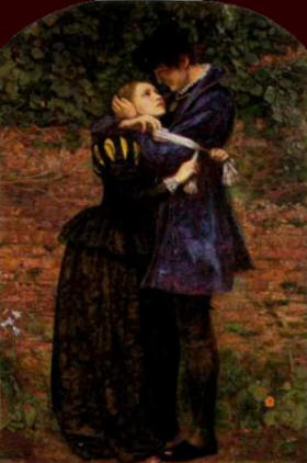 """The Huguenot"" by Sir John Everett Millais"